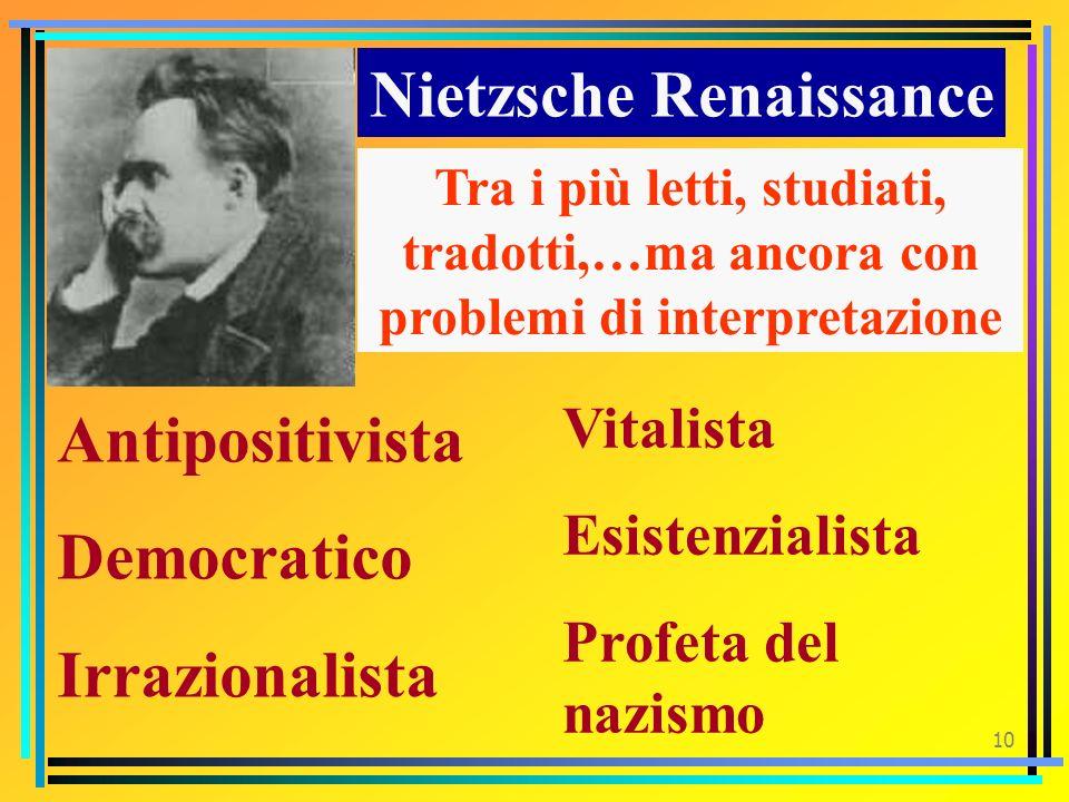 9 E mio buon lettore colui che di volta in volta viene profondamente ferito Nietzsche. Ecce homo