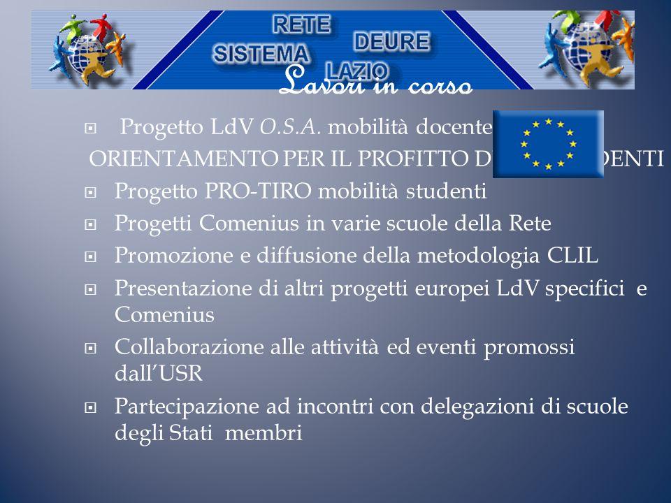 Per altre informazioni www.deurelazio.it Scriveteci a deurelazio@gmail.com