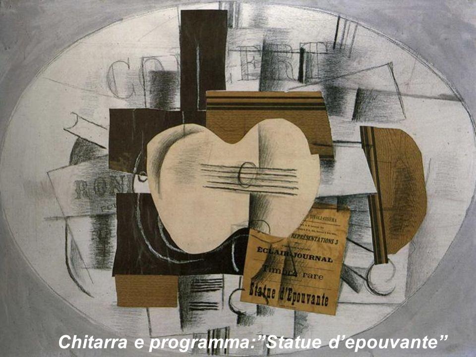 Chitarra e programma:Statue depouvante