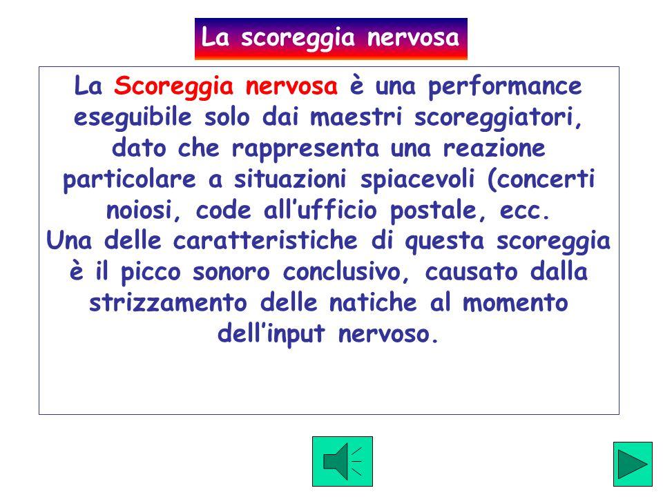 Click to hear example La scoreggia Standard è una semplice scoreggia media di tutti i giorni, adatta per ogni situazione e per ogni compagnia. E per n