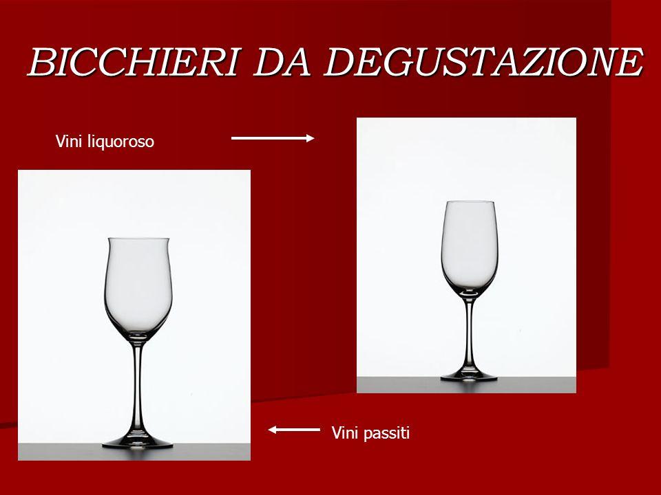 BICCHIERI DA DEGUSTAZIONE Vini liquoroso Vini passiti
