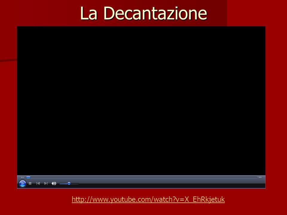 La Decantazione http://www.youtube.com/watch?v=X_EhRkjetuk