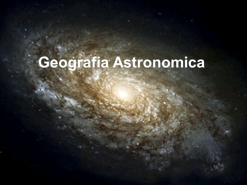 Geografia Astronomica
