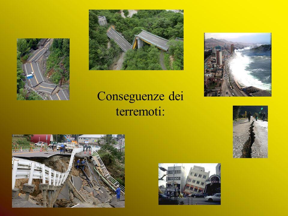 Conseguenze dei terremoti:
