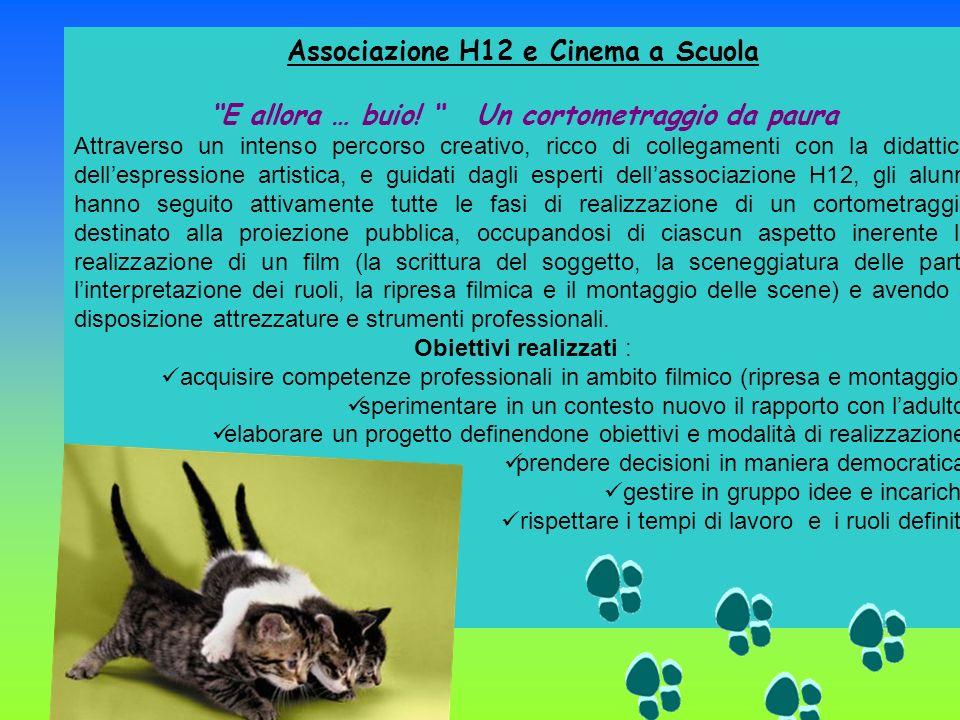 Associazione H12 e Cinema a Scuola E allora … buio.