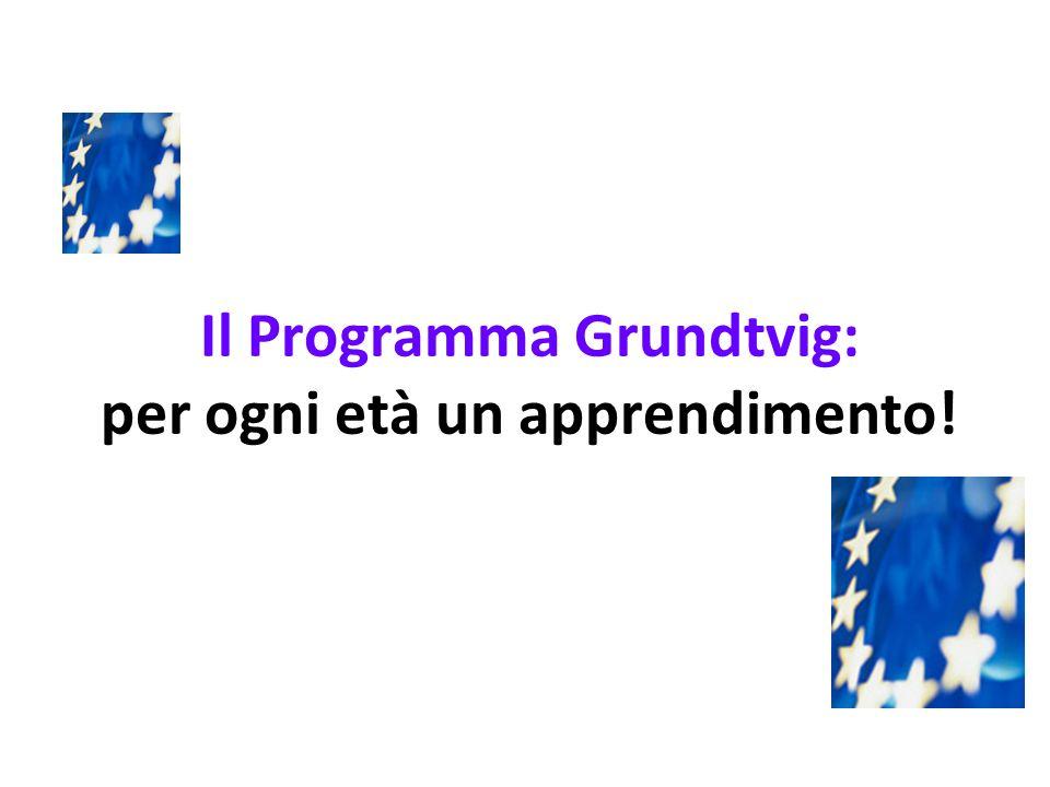 E sempre il momento giusto per imparare: Grundtvig!.