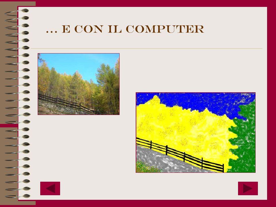 … e con il computer
