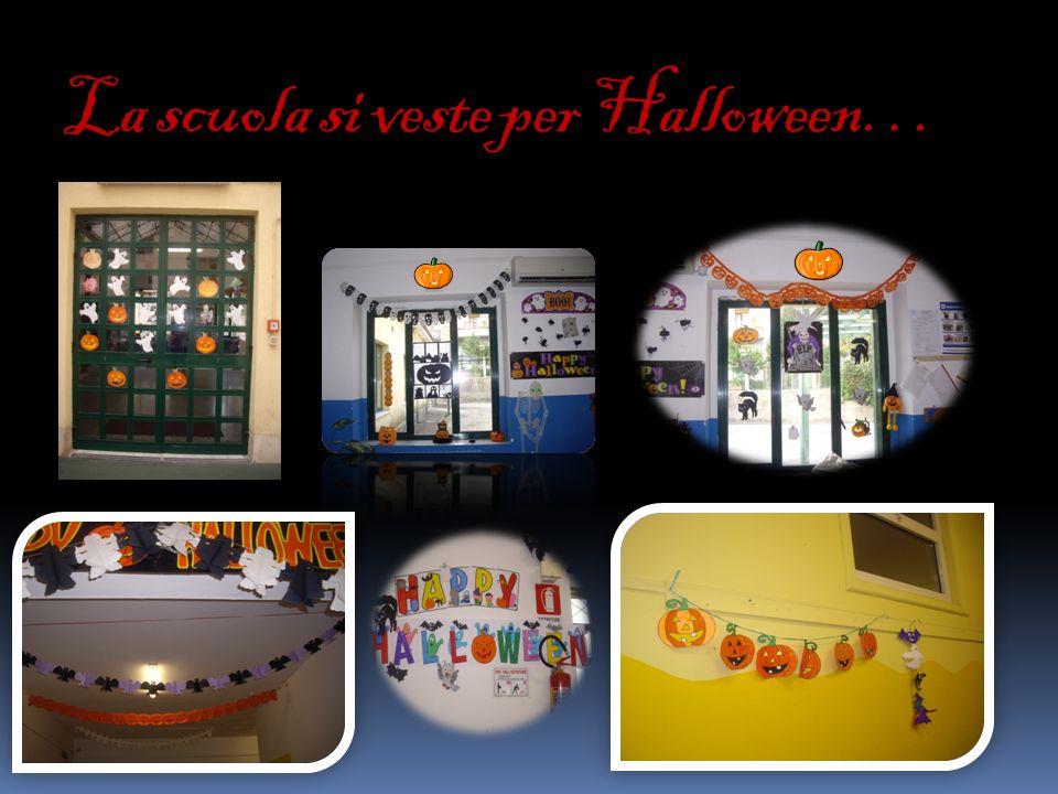 La scuola si veste per Halloween…