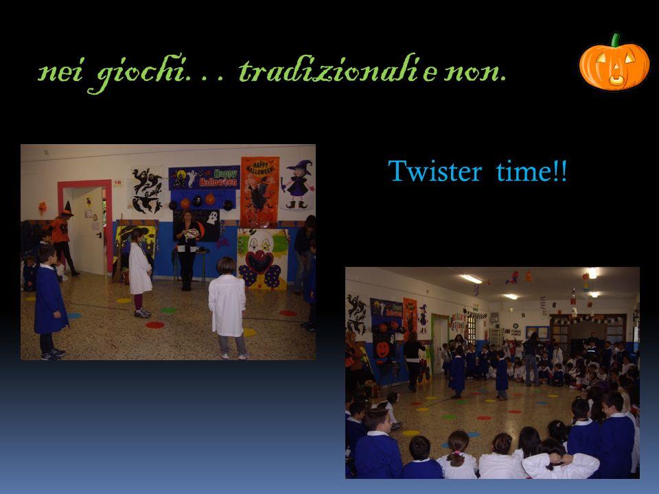 nei giochi… tradizionali e non. Twister time!!