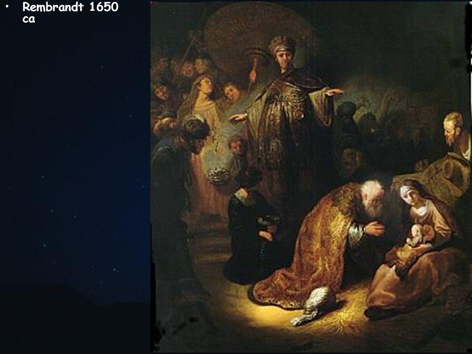Rembrandt 1650 ca
