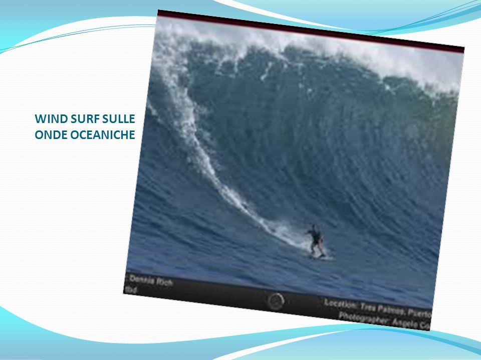 WIND SURF SULLE ONDE OCEANICHE