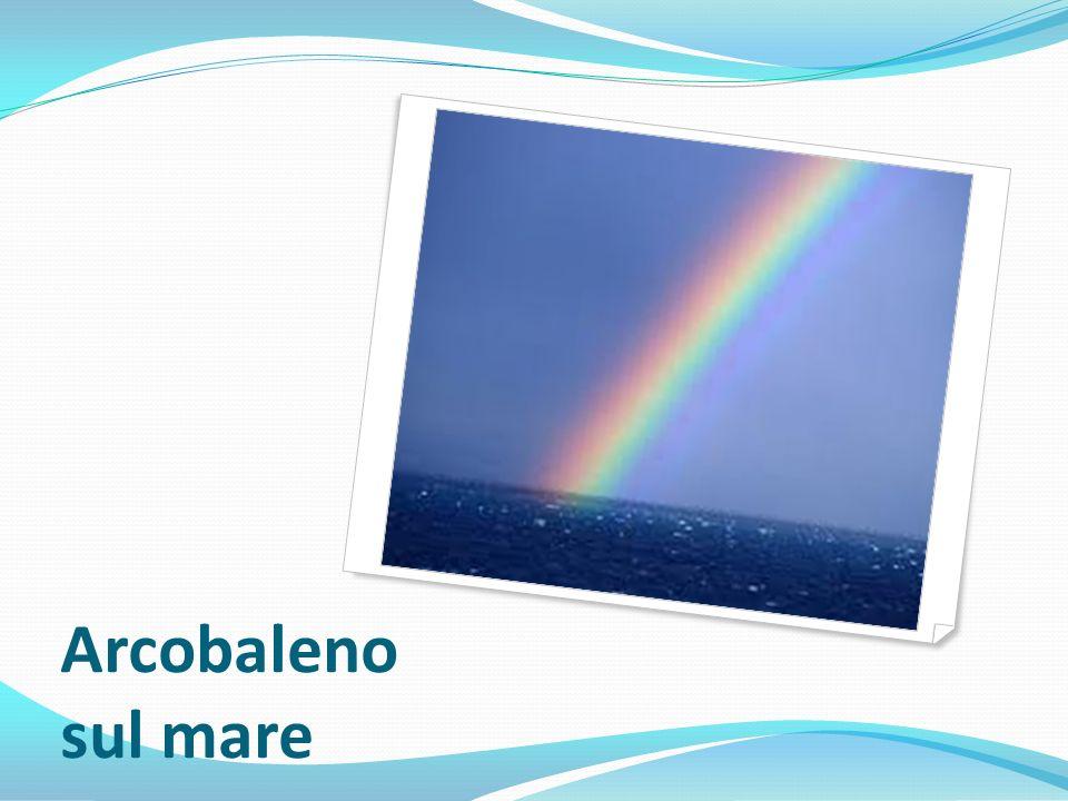 Arcobaleno sul mare