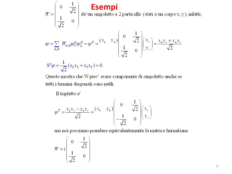 8 Esempi