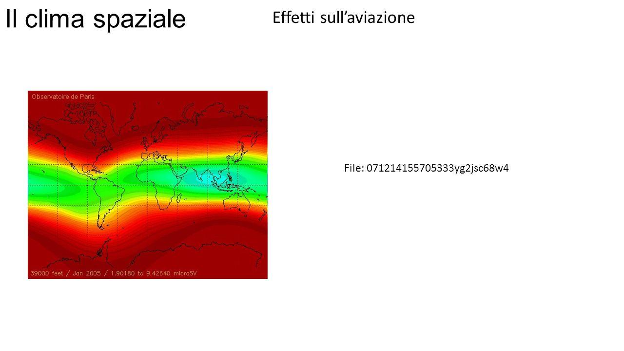 Il clima spaziale Effetti sullaviazione File: 071214155705333yg2jsc68w4