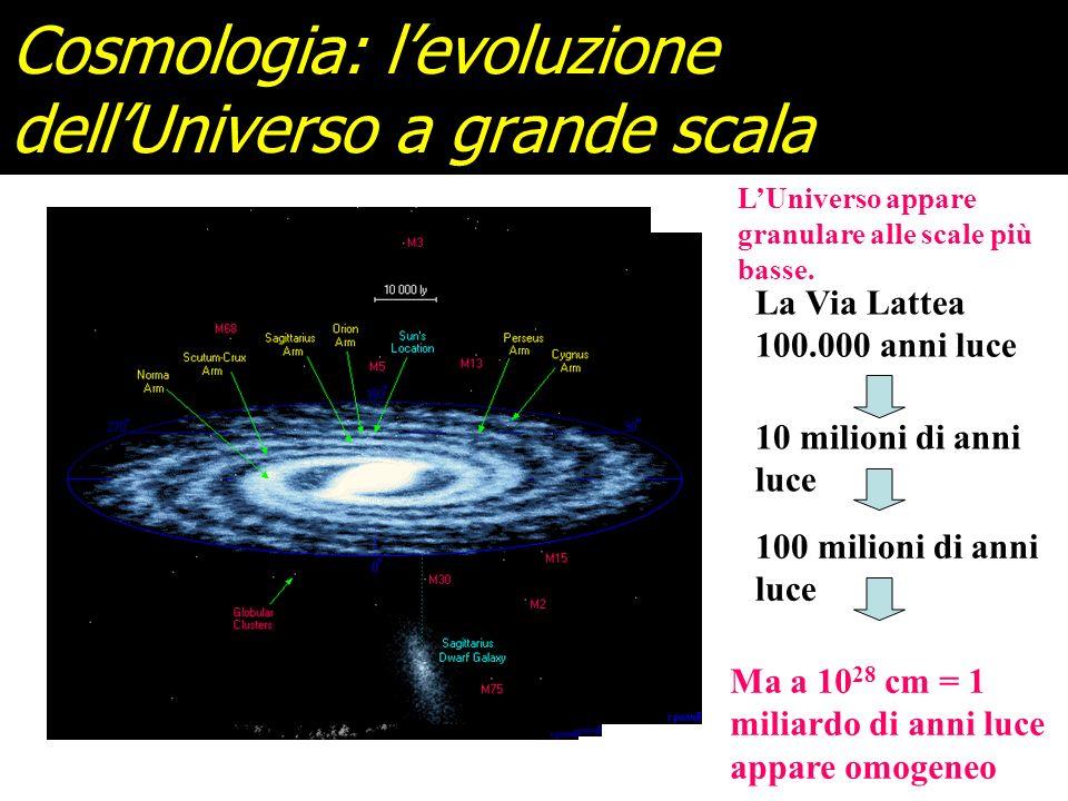 La Teoria delle Stringhe unifica tutte le interazioni con la gravità e quantizza la Relatività Generale Vediamo dunque le sue applicazioni alla Cosmol