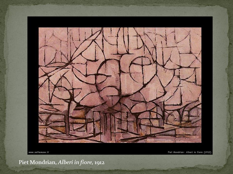Piet Mondrian, Alberi in fiore, 1912