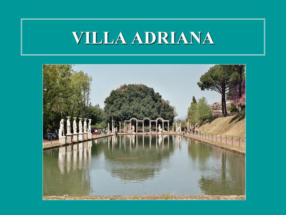 La Villa è uno dei più notevoli esempi rimasti di palazzo imperiale e dinastico.