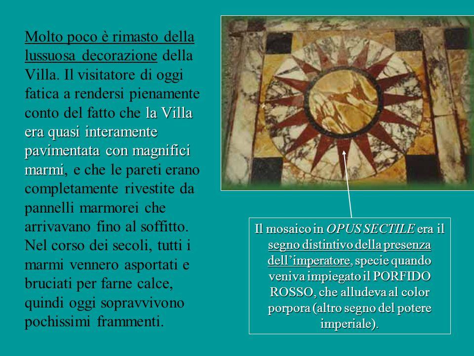 Limperatore Adriano… Detestava l affollamento, gli intrighi e il caos di Roma, dove risiedette il meno possibile.