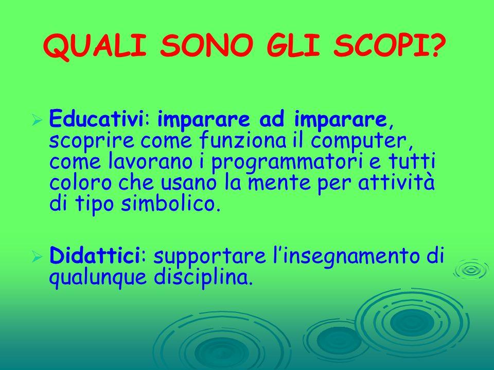 ATTIVITA 3 Dare ai bambini la possibilità di inventare nuove parole per semplificare il comando.