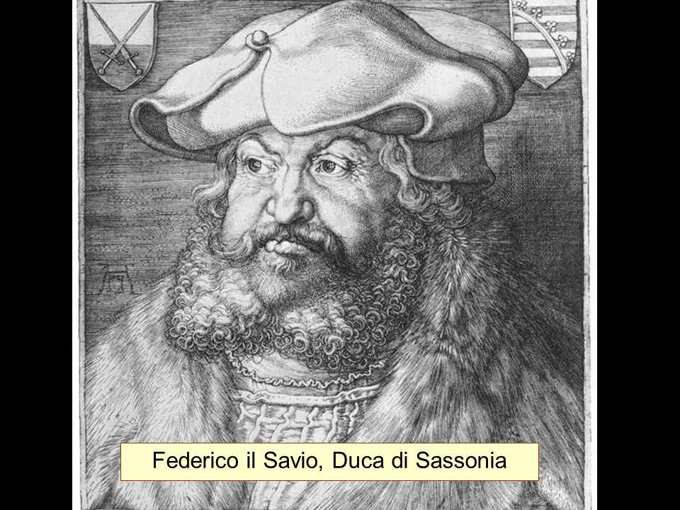 Federico il Savio, Duca di Sassonia
