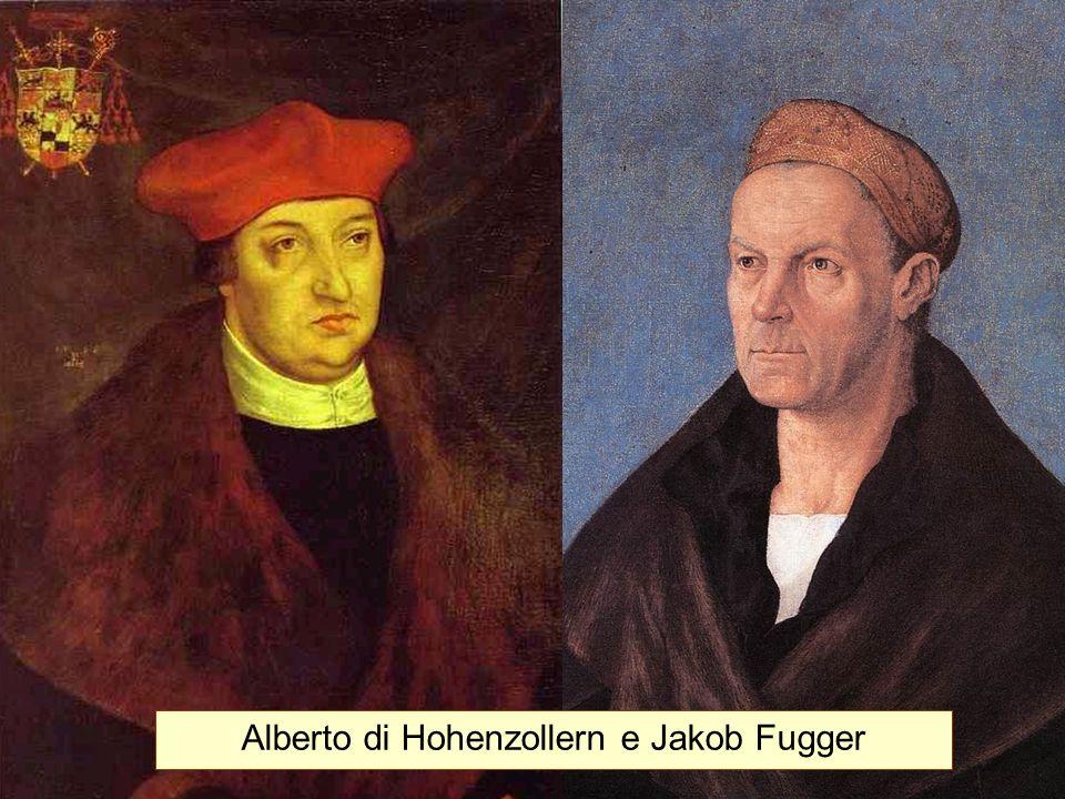 Alberto di Hohenzollern e Jakob Fugger