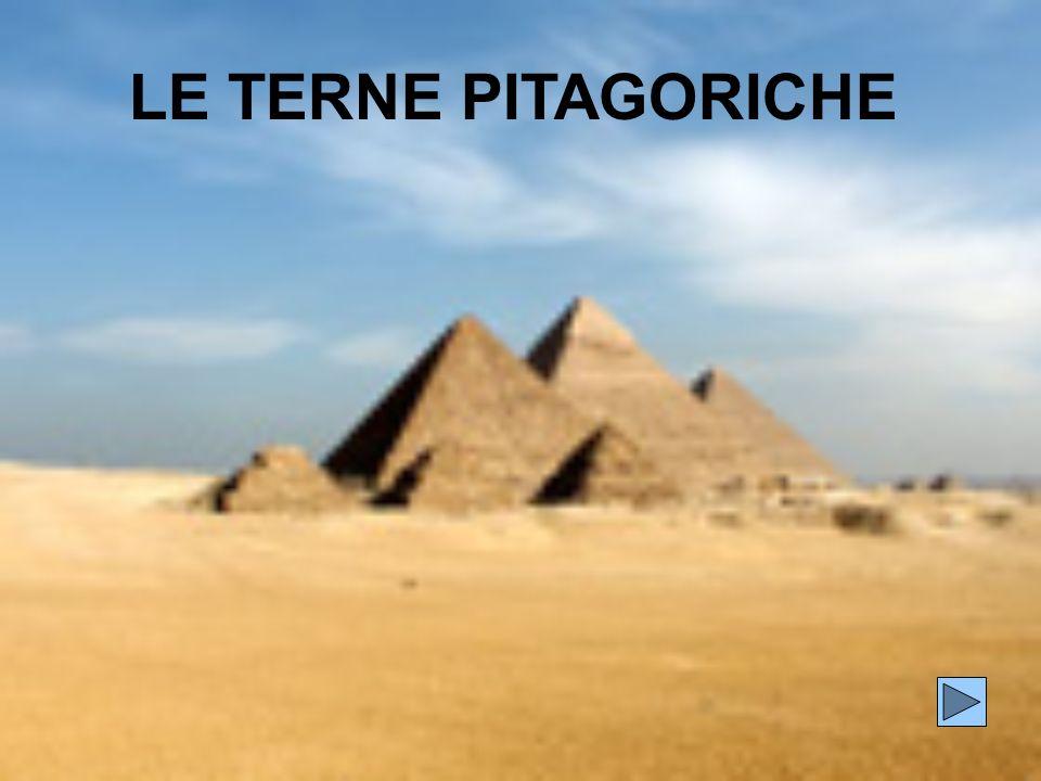 LE TERNE PITAGORICHE