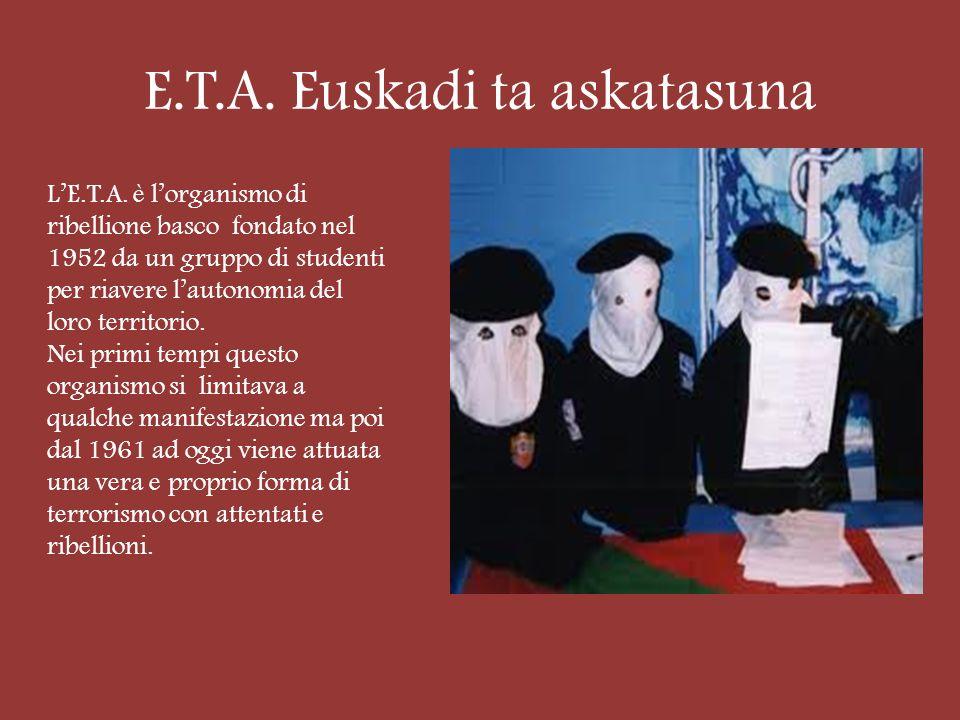 E.T.A.Euskadi ta askatasuna LE.T.A.