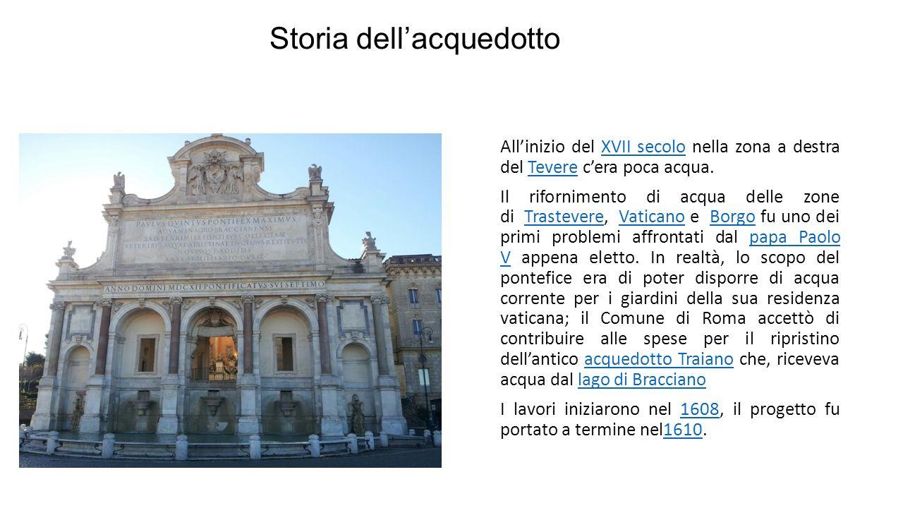 Descrizione La metà inferiore è occupata da archi, di cui i tre centrali più alti e larghi e due laterali, tutti separati da colonne poste su piedistalli.