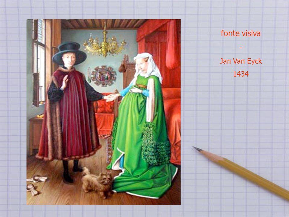 fonte visiva - Jan Van Eyck 1434