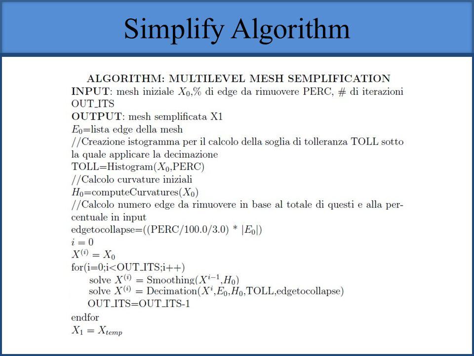 Simplify Algorithm
