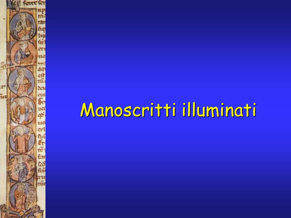 Spettri Raman dai Lindisfarne Gospels L analisi Raman, effettuata su questo manoscritto dal Prof.