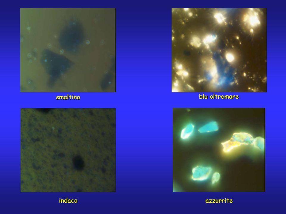 smaltino azzurriteindaco blu oltremare