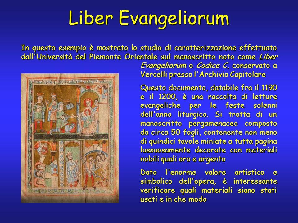 Liber Evangeliorum Evangeliorum o Codice C, conservato a Vercelli presso l'Archivio Capitolare Questo documento, databile fra il 1190 e il 1200, è una