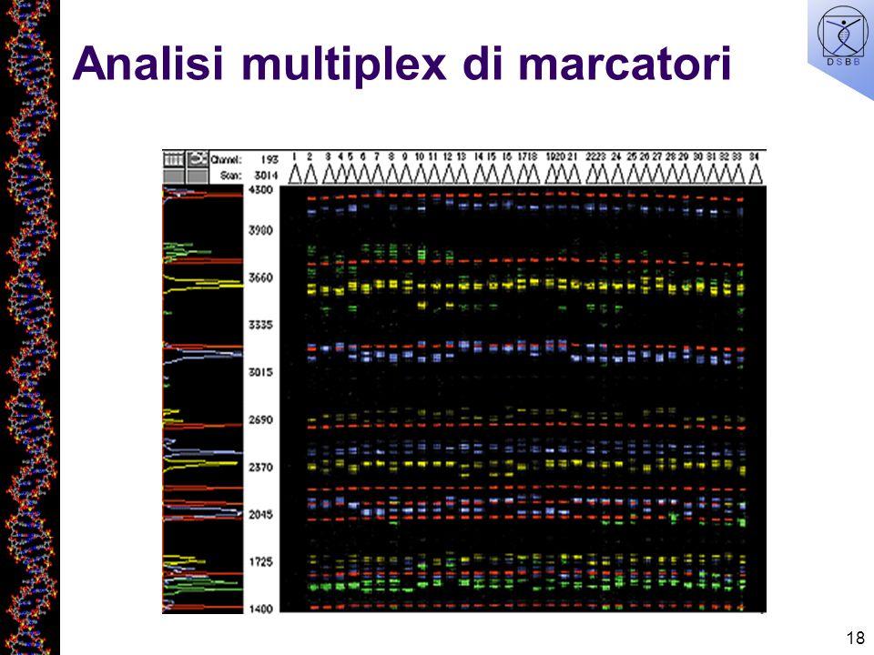 18 Analisi multiplex di marcatori