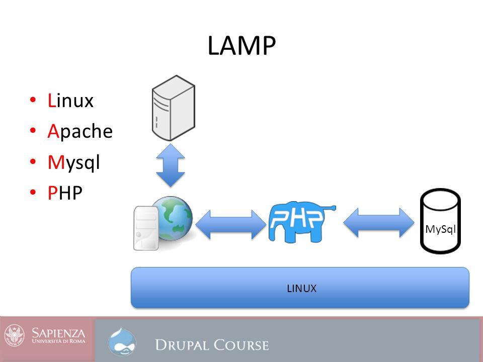 LAMP Linux Apache Mysql PHP MySql LINUX