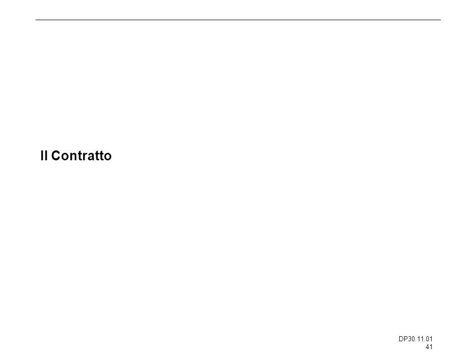 DP30.11.01 41 Il Contratto