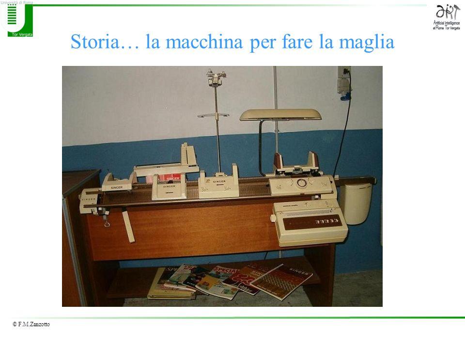 © F.M.Zanzotto Storia… la macchina per fare la maglia