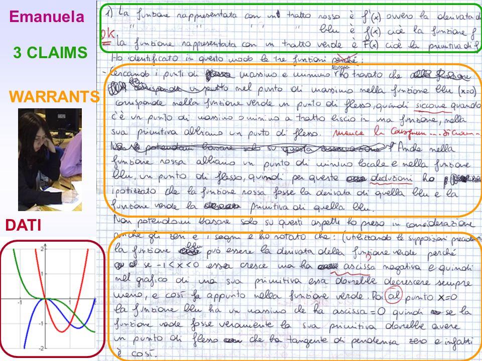 15 Emanuela 3 CLAIMS DATI WARRANTS
