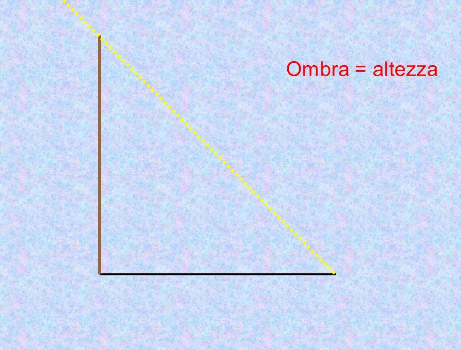 Ombra = altezza
