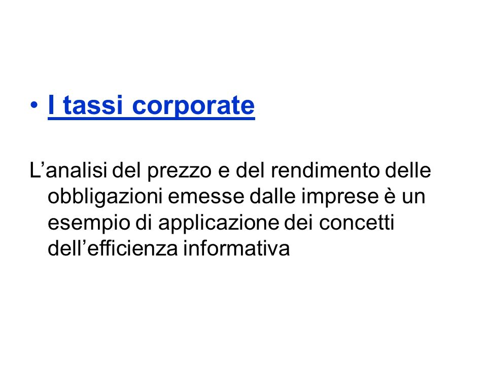 La Fed è della stessa idea della BCE sullimportanza della comunicazione: Short-term interest rates, such as those on Treasury bills and commercial paper, are affected not only by the current level of the federal funds rate but also by expectations about the overnight federal funds rate over the duration of the short-term contract.
