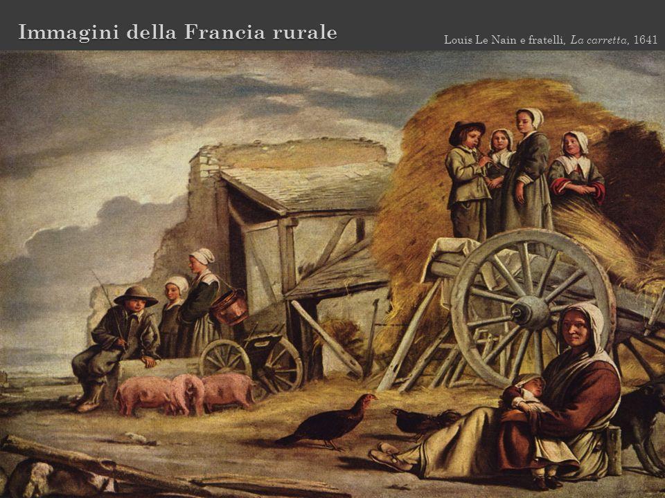 Immagini della Francia rurale Louis Le Nain e fratelli, La carretta, 1641