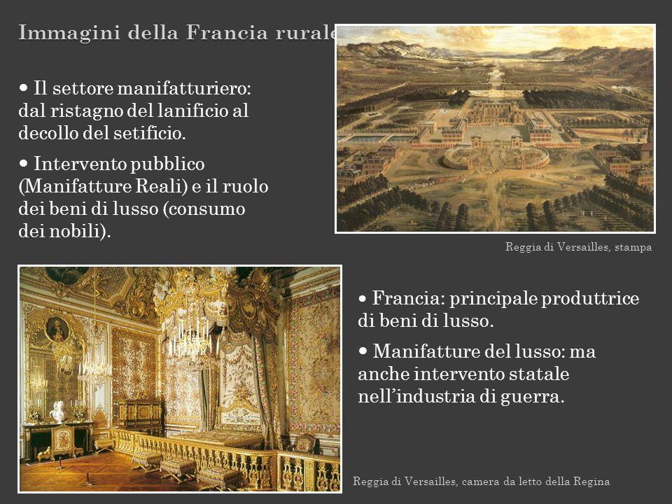 Immagini della Francia rurale Reggia di Versailles, stampa Reggia di Versailles, camera da letto della Regina Francia: principale produttrice di beni