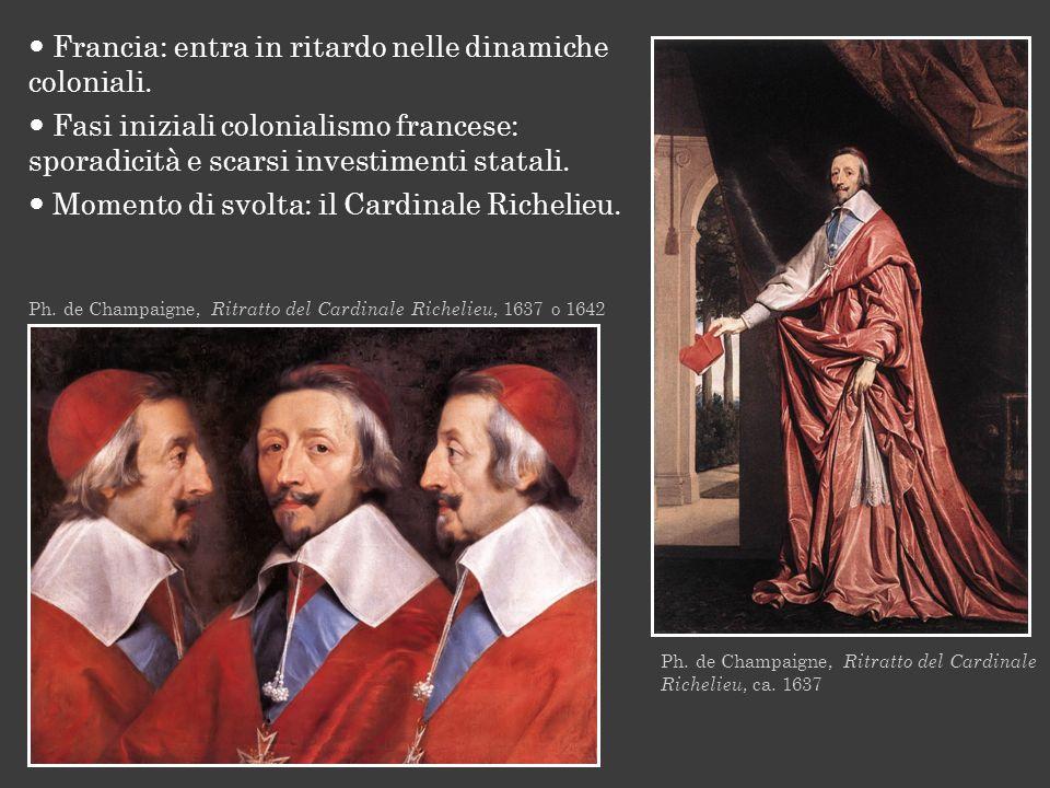 Ph. de Champaigne, Ritratto del Cardinale Richelieu, 1637 o 1642 Ph. de Champaigne, Ritratto del Cardinale Richelieu, ca. 1637 Francia: entra in ritar