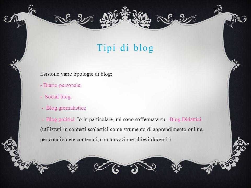 Le origini dei blog didattici Intorno agli anni 2000, ci si rese conto delle potenzialità dei blog applicate alla didattica.