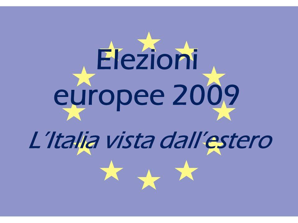 Elezioni europee 2009 LItalia vista dallestero