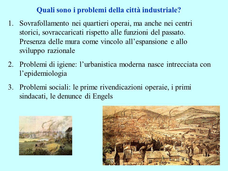 Qualche esempio: i piani degli utopisti: Fourier