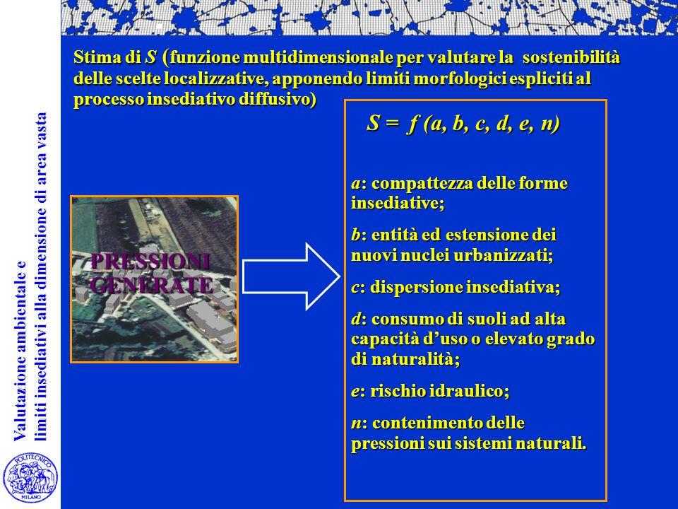 Valutazione ambientale e Valutazione ambientale e limiti insediativi alla dimensione di area vasta limiti insediativi alla dimensione di area vasta PR