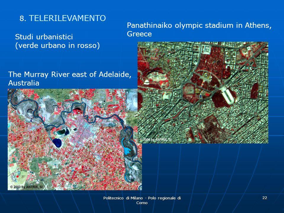 Politecnico di Milano - Polo regionale di Como 22 Studi urbanistici (verde urbano in rosso) Panathinaiko olympic stadium in Athens, Greece The Murray
