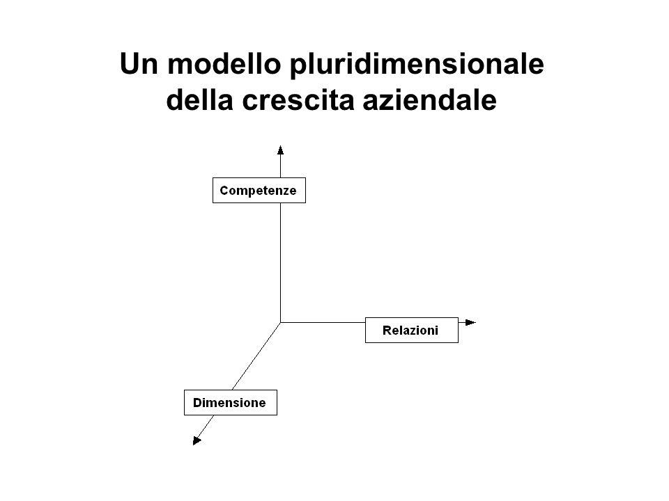 Un modello pluridimensionale della crescita aziendale