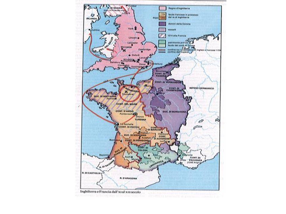 La Francia tra XI e XIII secolo/ cronologia essenziale 987: incoronazione di Ugo Capeto- i Capetingi sono i conti di Parigi e possono vantare il controllo del nucleo più consistente dei beni già carolingi.